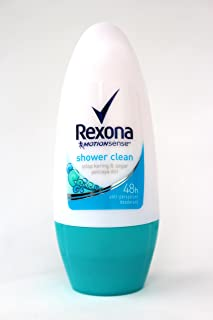 Rexona レクソナ 女性用 制汗 デオドラント ロールオン shower clean シャワークリーン 50ml [並行輸入品][海外直送品]