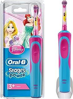 Oral-B Stages Power Spazzolino Elettrico Ricaricabile per Bambini con Principesse Disney, con 1 Manico e 1 Testina, Versio...
