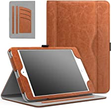 MoKo Case Fit iPad Mini 3/2/1, Slim Folding Stand Folio Cover Case Compatible with Apple iPad Mini 1/Mini 2/Mini 3, with Auto Wake/Sleep and Document Card Slots, Multiple Viewing Angles, Brown