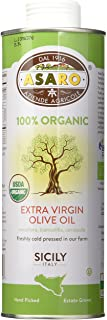 Asaro Organic Extra Virgin Olive Oil, 16.9 Fluid Ounce