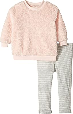 Splendid Littles - Sherpa Sweatshirt with Leggings Set (Infant)