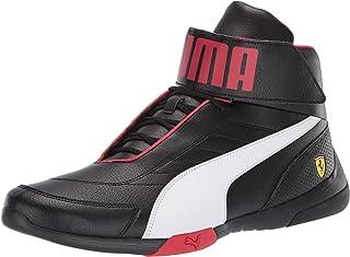 PUMA Men's Ferrari Kart Cat Mid Sneaker