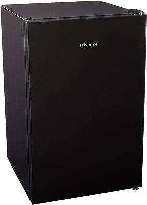 Hisense RR42D6GBX Figobar P3, Puerta de Cristal, Negro, 4.4 Feet