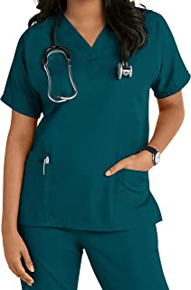 Healthcare Dr, Nurses Beautician, Vet Tunics Uniform Top [ S- 3XL]