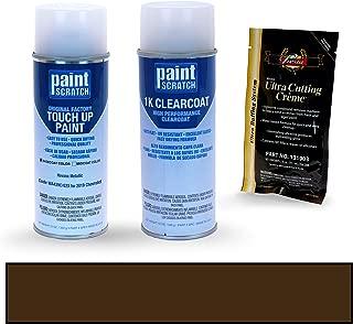 PAINTSCRATCH Havana Metallic WA439C/G2X for 2019 Chevrolet Traverse - Touch Up Paint Spray Can Kit - Original Factory OEM Automotive Paint - Color Match Guaranteed