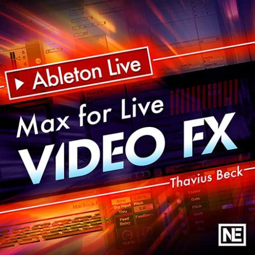 Ableton Live FastTrack 402 : Max For Live Video FX