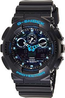 GSHOCK Men's Automatic Wrist Watch analog-digital Display and Resin Strap, GA100CB-1A
