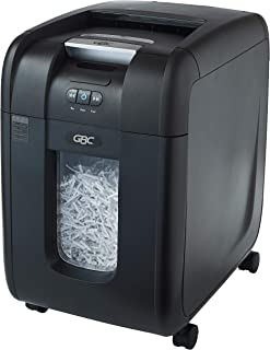 Swingline GBC Paper Shredder, Auto Feed, 230 Sheet Capacity, Super Cross-Cut, 1-5 Users, Stack-and-Shred 230X (1757573)