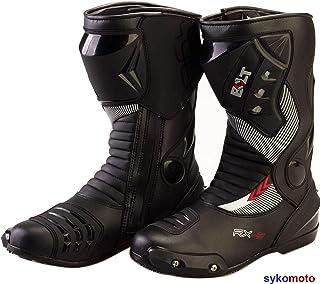 BOLT S12 Deportes Proteccion Motocicleta Carreras Deslizador Impermeable Negro Botas 44 EU//10 UK