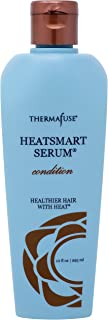 Thermafuse HeatSmart Serum Condition (10 ounces) Color Safe, Moisturizing Conditioner with Certified Organic Oils. Smoothes, Softens, Detangles and Adds Shine to Damaged, Curly or Colored Hair