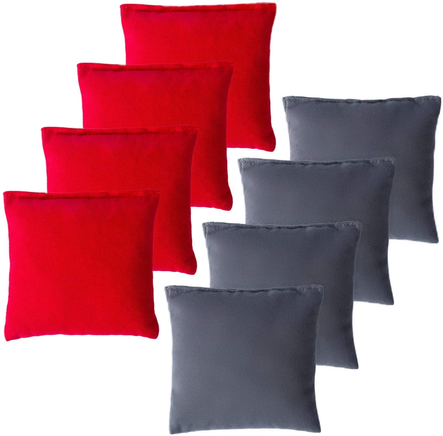 YAADUO Set of 8 Regulation Cornhole Columbus Be super welcome Mall Cloth Stic Duck Bags Double