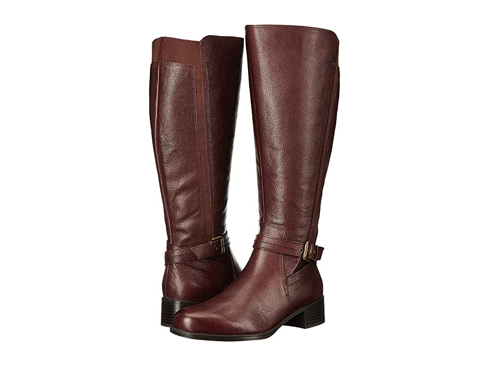 Naturalizer Wynnie Wide Calf (Bridal Brown Leather) Women