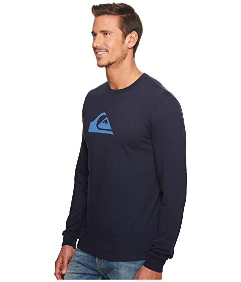 MW Sleeve Quiksilver Tee Long Logo 4px6Y6Und