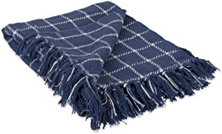 DII Camping BBQ's Beaches Everyday Blanket, French Blue, 50 x 60 Inches