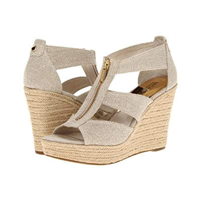 MICHAEL Michael Kors Damita Wedge (Natural Hemp) Women