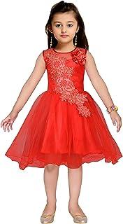 Kidling Girl's Skater Mini Dress (K-4503-$P_Blue)