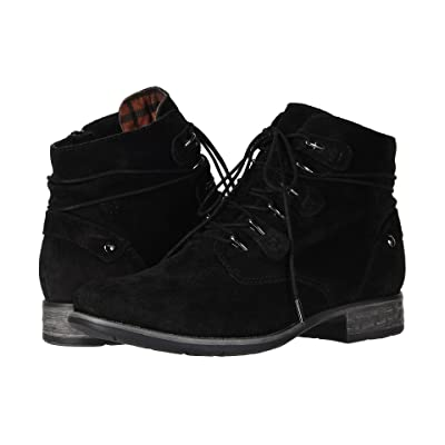 Earth Boone (Black Suede) Women