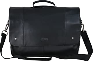 Leather Dual Compartment Flapover 16.0
