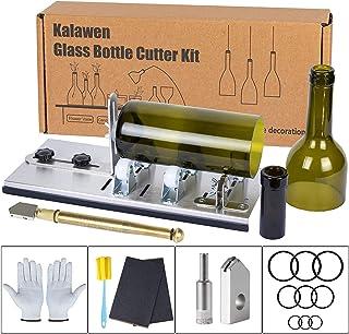 Kalawen Glass Bottle Cutter Bottle Cutting DIY Machine for Cutting Wine, Beer, Liquor,..
