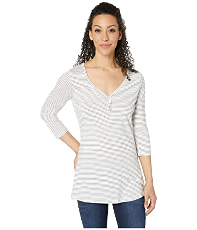 Toad&Co Tamaya Tres Tunic (Egret Mini Stripe) Women