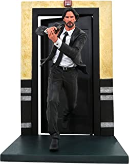 DIAMOND SELECT TOYS John Wick Gallery: Chapter 1 PVC Figure, Multicolor, 9 inches