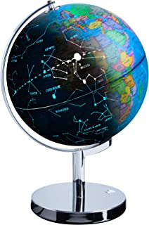 USA Toyz LED Constellation Globe for Kids - 3 in 1 Educational STEM Toys, Light Up World Globe, Constellation Globe and Nightlight w/ Stand