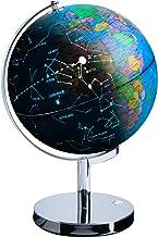 USA Toyz LED Illuminated Globe of The World with Sturdy Chrome Stand – 3 in 1..