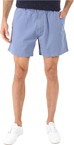 Snappers Vintage Washed Elastic Waistband Shorts