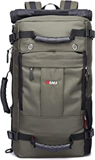 KAKA Travel Backpack,Carry-On Bag Water Resistant Flight Approved Weekender Duffle Backpack Rucksack Daypack for Men Women