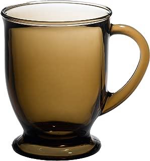 Anchor Hocking Café Mug, Mocha, Set of 6
