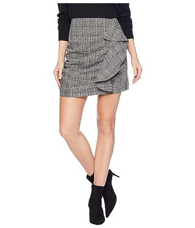 Bishop + Young Checkmate Mini Skirt (Glen Check) Women