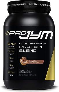 Pro JYM Protein Powder - Egg White, Milk, Whey Protein Isolates & Micellar Casein | JYM Supplement Science | Rocky Road Flavor, 2 lb