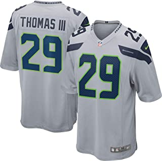 Nike Earl Thomas III Seattle Seahawks NFL Youth 8-20 Gray Alternate On-Field Player Jersey