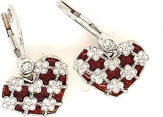 TINELLI Orecchini in Oro 18K con Diamanti Naturali E SMALTI