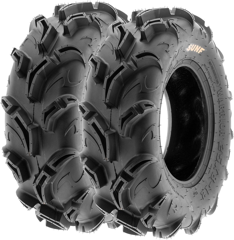 Quantity limited Pair of 2 SunF Warrior AT 27x9-14 Mud P 6 Tires 2021 autumn and winter new UTV Trail ATV