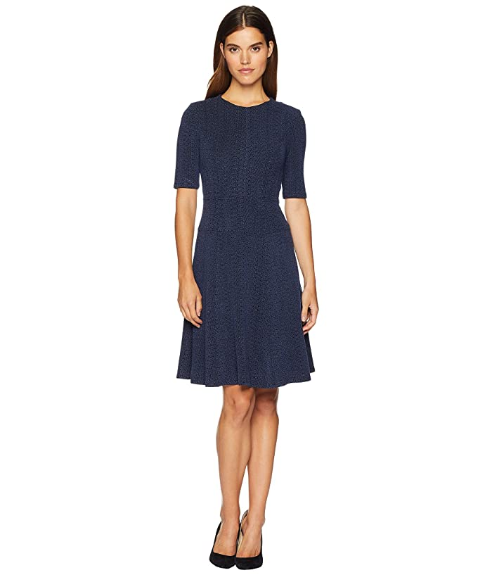 Suspect Knit Fit And Flare Dress by Nanette Lepore