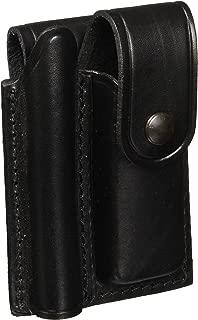 Maglite Mini Maglite/Pocket Knife Leather Holster, Black