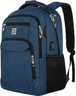 travel blue backpack