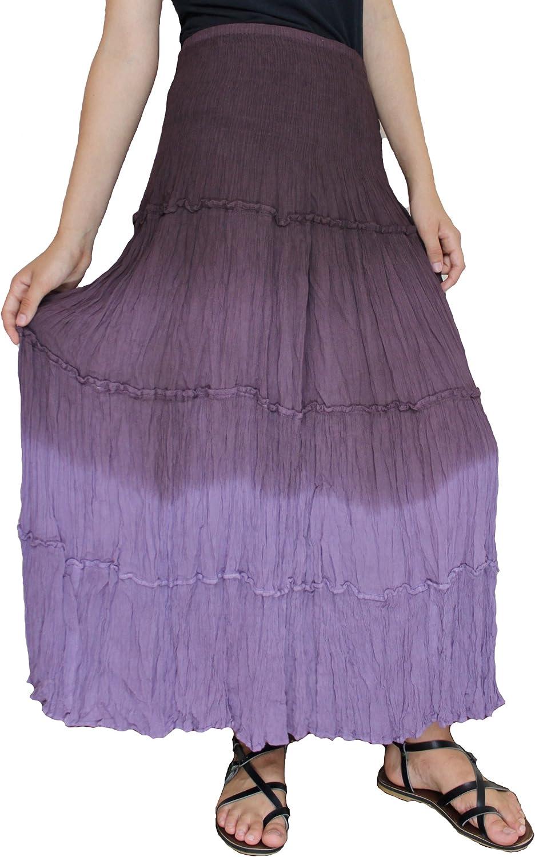 Sacred Threads Purple Long Skirt – One Size #215608