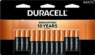 Duracell – CopperTop AAA Alkaline Batteries – long lasting, all-purpose..