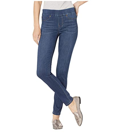Liverpool Sienna Pull-On Leggings in Silky Soft Stretch Denim in San Andreas Dark Women