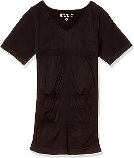 [アンダーウエアーエクスチェンジ] 加圧インナー 強加圧インナー Tシャツ 半袖V首 姿勢補正サポート 引き締め 成型インナー 吸汗速乾 メンズ 33132-21130