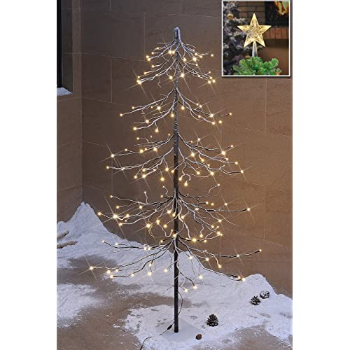 Outdoor Christmas Tree With Lights.Outdoor Lighted Christmas Trees Amazon Com