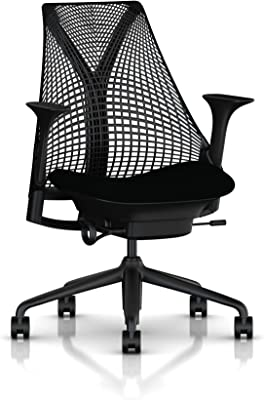 Herman Miller Sayl Task Chair: Tilt Limiter - Stationary Seat Depth - Height Adj Arms