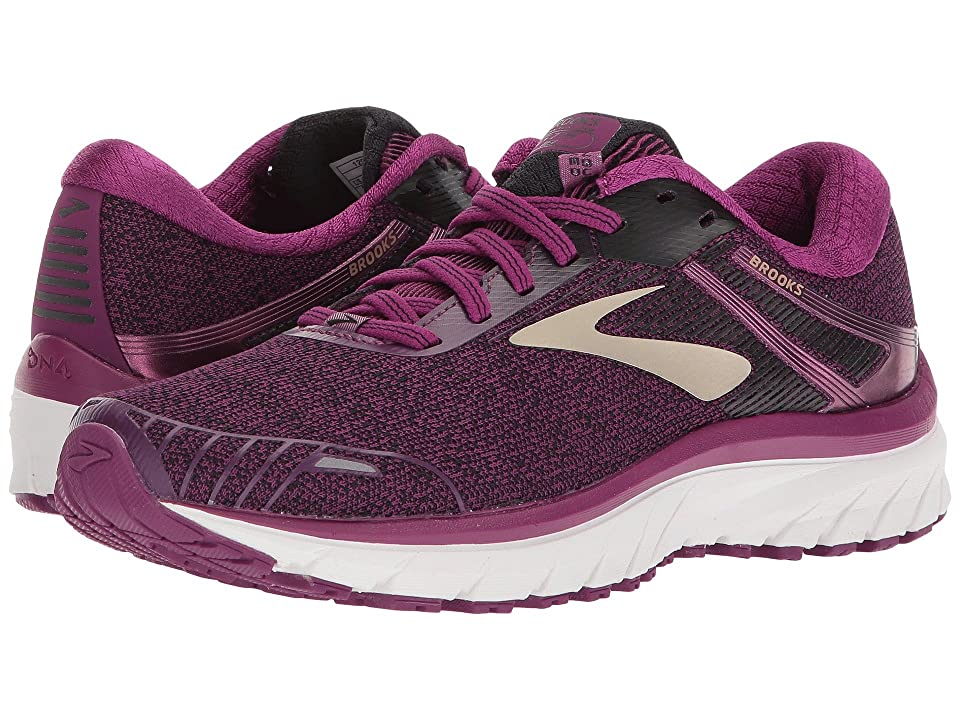 Brooks Adrenaline GTS 18 (Purple/Black/Champagne) Women