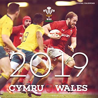 Welsh Rugby Union Official 2019 Calendar - Square Wall Calendar