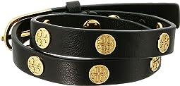 Tory Burch - Double Wrap Logo Stud Bracelet