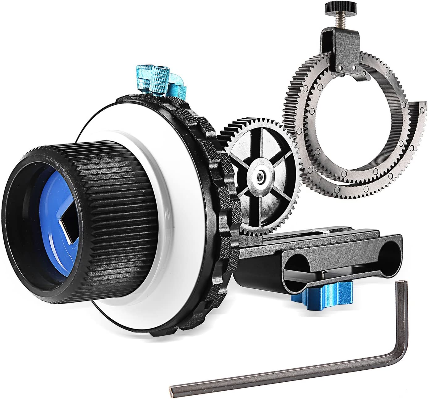 Neewer A-B Stop Follow Focus C2 with Ring Cam Quality inspection Belt for Gear DSLR Max 61% OFF