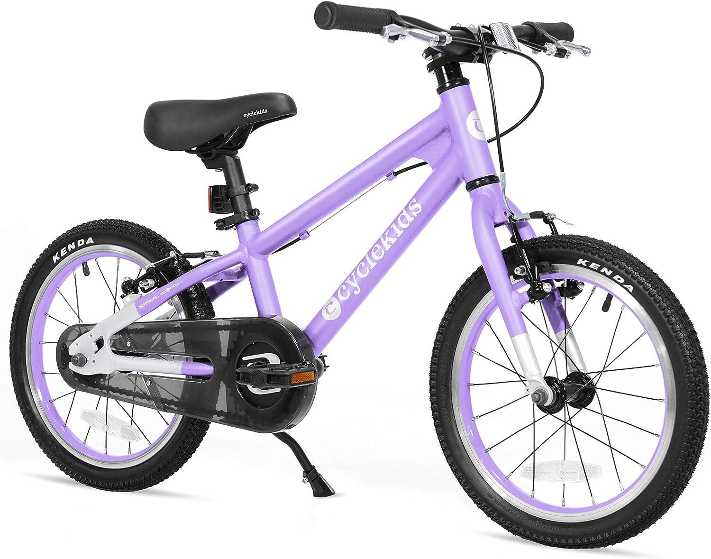 "Belt Drive Aluminum 16/"" Kids Bike 12.57lbs Dual Tektro Brakes Kenda Tires PINK"