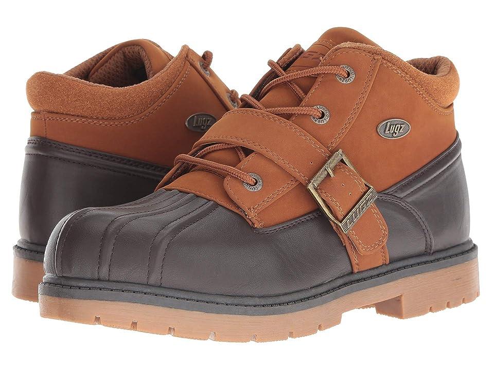 Lugz Avalanche Strap (Dark Brown/Rust/Gum) Men